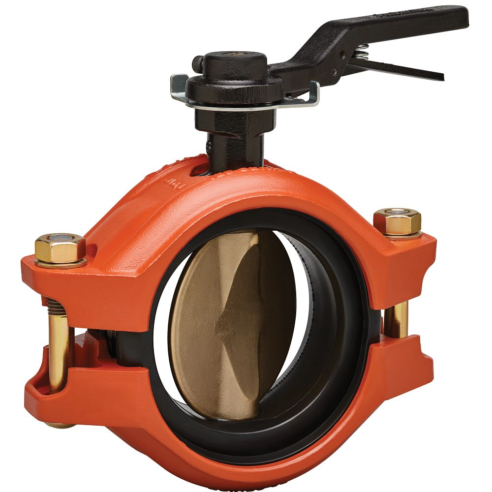 Series 122 Installation-Ready™ Rubber-Lined Butterfly Valve with Aluminum Bronze Disc