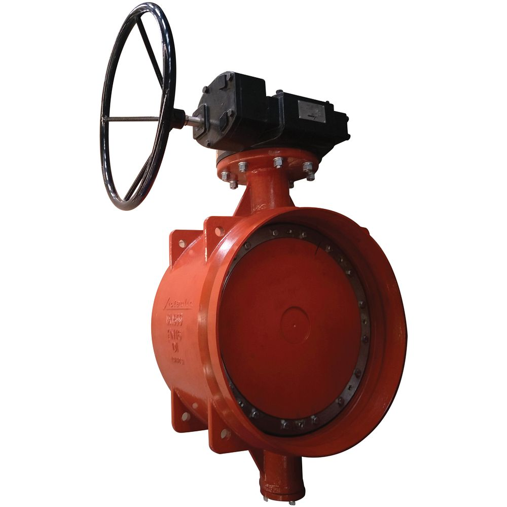 Series W710 AGS Double Eccentric Butterfly Valve