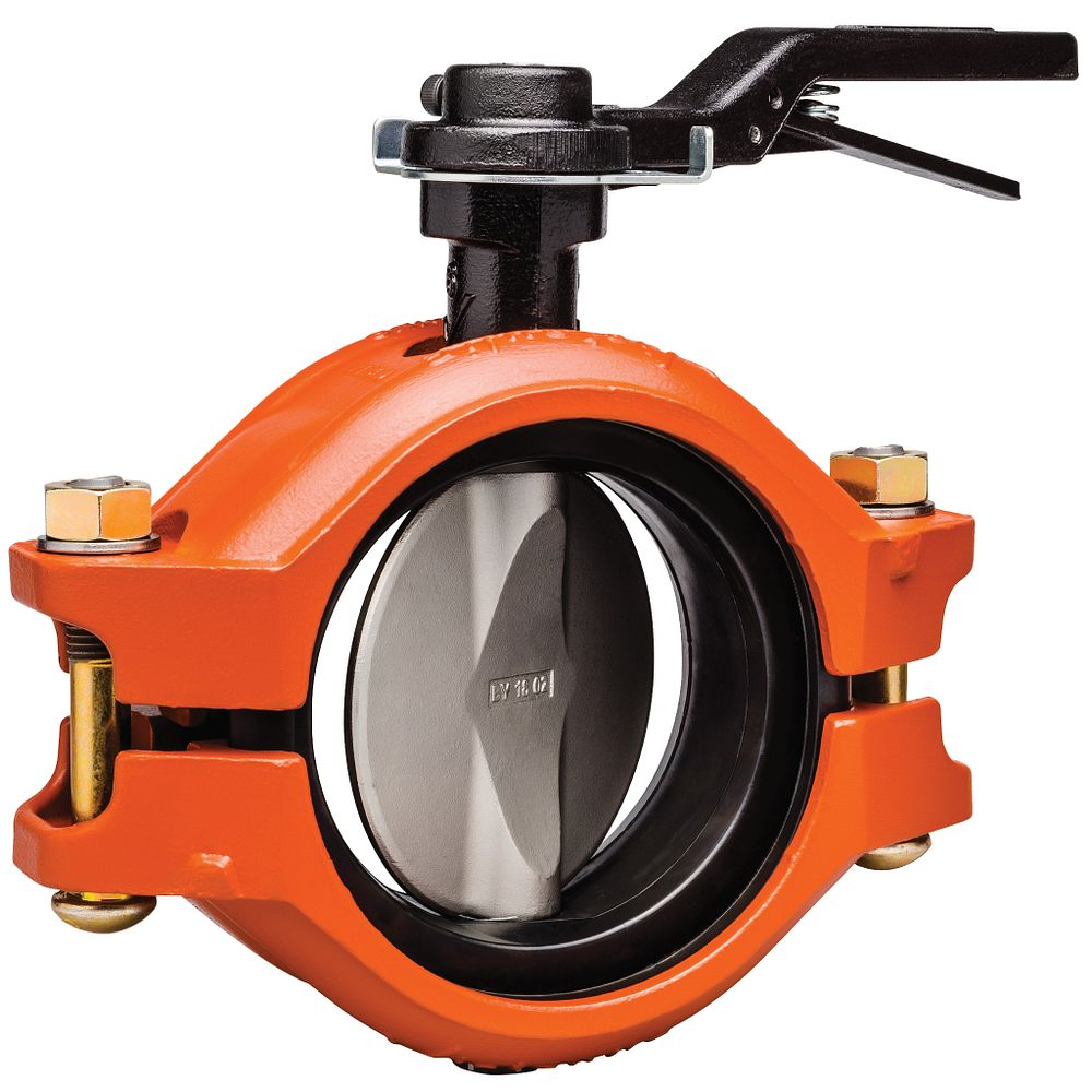 Series 121 Installation-Ready™ Rubber-Lined Butterfly Valve for Carbon Steel Pipe