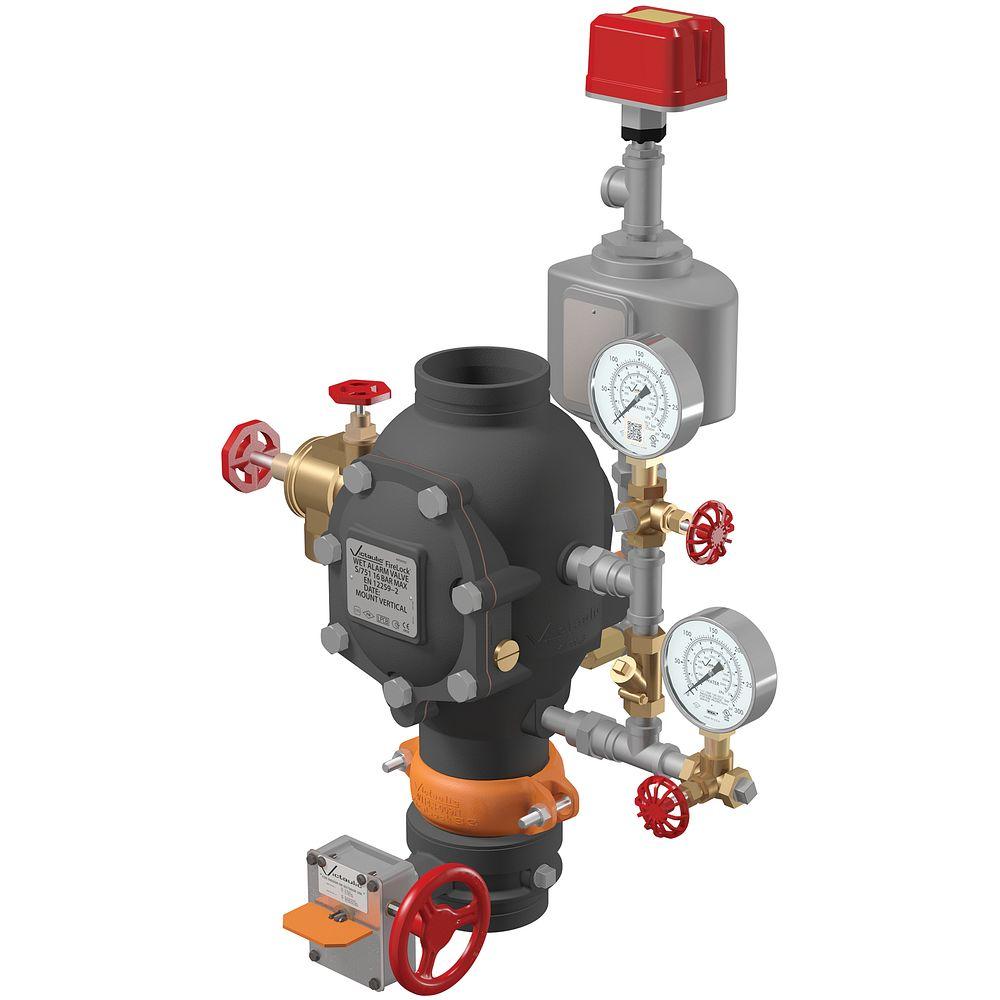 Válvula check de alarma FireLock™ Serie 751 (configuración VdS)