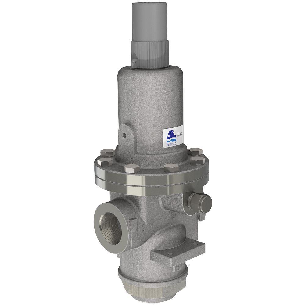 Direkt betätigtes Druckbegrenzungsventil/Druckbegrenzungsventil für Feuerlöschpumpen-Gehäuse Serie 867-3HC